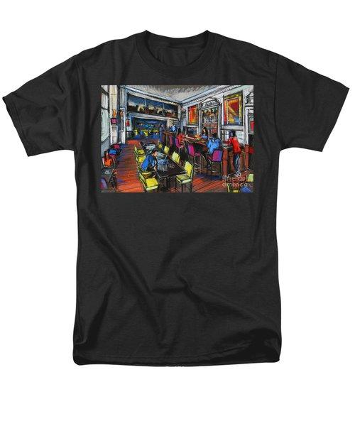 French Cafe Interior Men's T-Shirt  (Regular Fit)