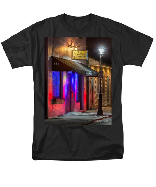 French Quarter Wedding Chapel Men's T-Shirt  (Regular Fit) by Jerry Fornarotto