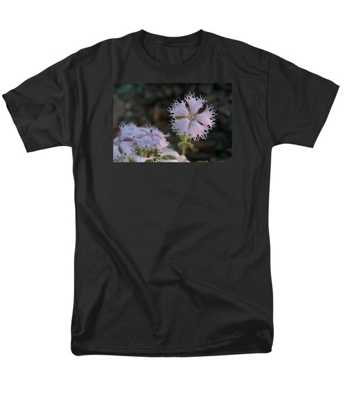 Men's T-Shirt  (Regular Fit) featuring the photograph Fringed Catchfly by Paul Rebmann