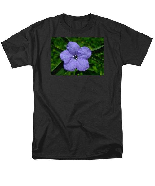 Men's T-Shirt  (Regular Fit) featuring the photograph Wild Fringeleaf Ruellia by William Tanneberger