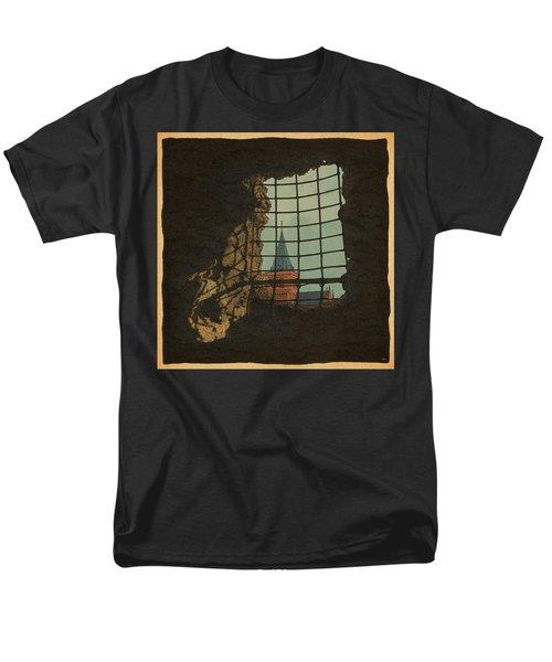 From A Castle Men's T-Shirt  (Regular Fit) by Meg Shearer