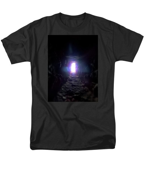 From Dark To Bright Men's T-Shirt  (Regular Fit) by Marc Philippe Joly