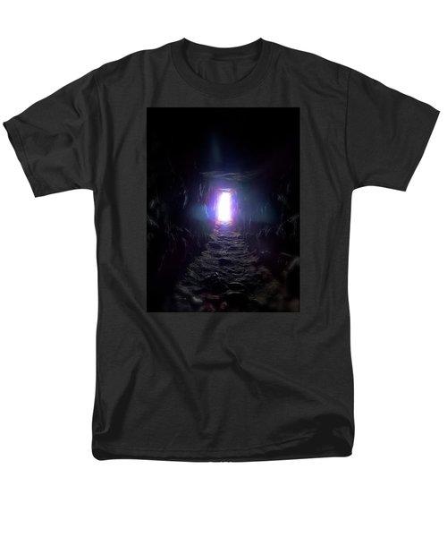 From Dark To Bright Men's T-Shirt  (Regular Fit)