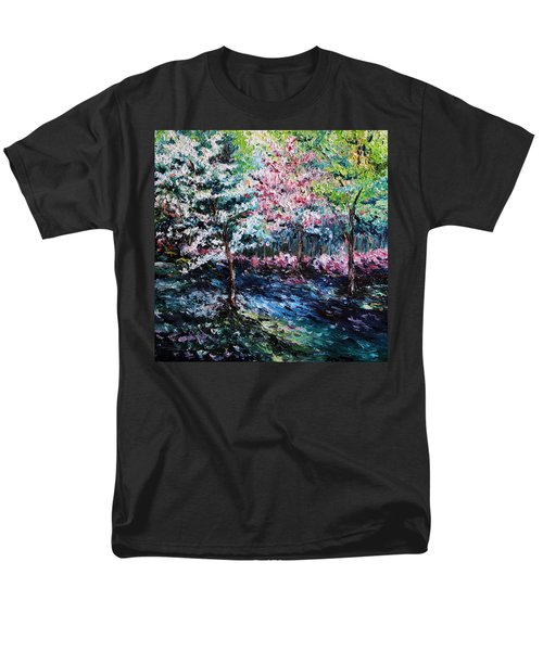 Men's T-Shirt  (Regular Fit) featuring the painting From The Earth by Meaghan Troup