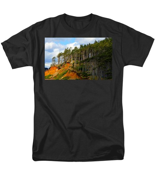 Men's T-Shirt  (Regular Fit) featuring the photograph Frozen In Time by Jeanette C Landstrom