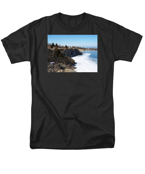 Frozen Quarry Men's T-Shirt  (Regular Fit) by Catherine Gagne