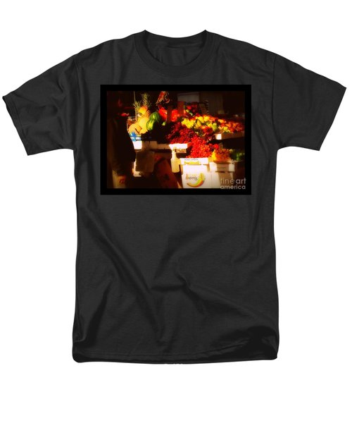 Men's T-Shirt  (Regular Fit) featuring the photograph Fruit A La Caravaggio by Miriam Danar