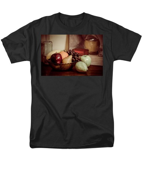 Fruit With Painting Men's T-Shirt  (Regular Fit) by Brian Caldwell