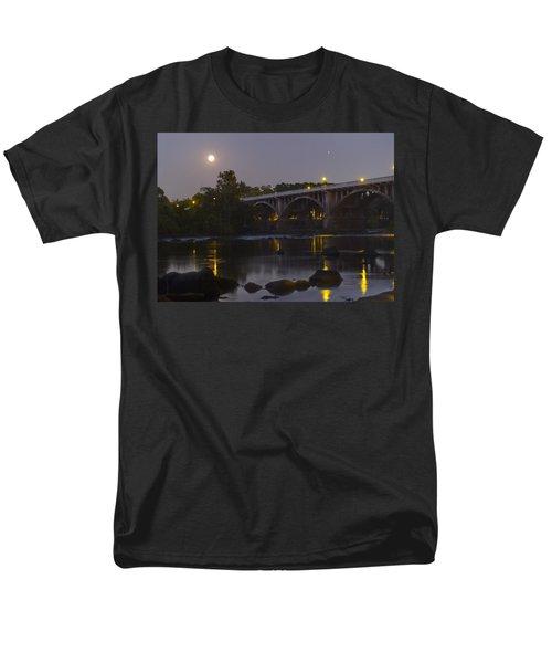 Full Moon And Jupiter-1 Men's T-Shirt  (Regular Fit) by Charles Hite