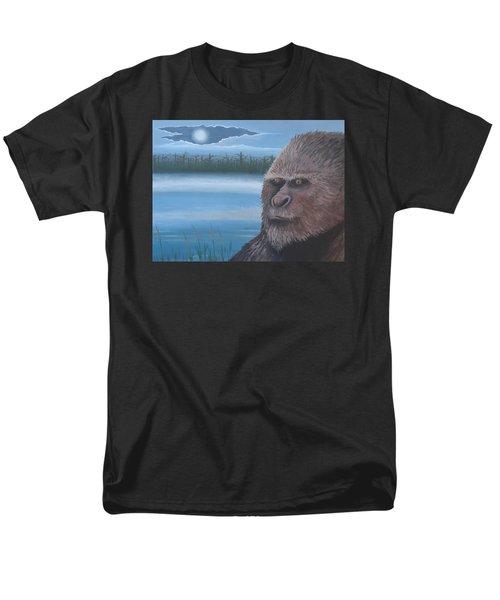 Full Moon At Boggy Creek Men's T-Shirt  (Regular Fit) by Stuart Swartz