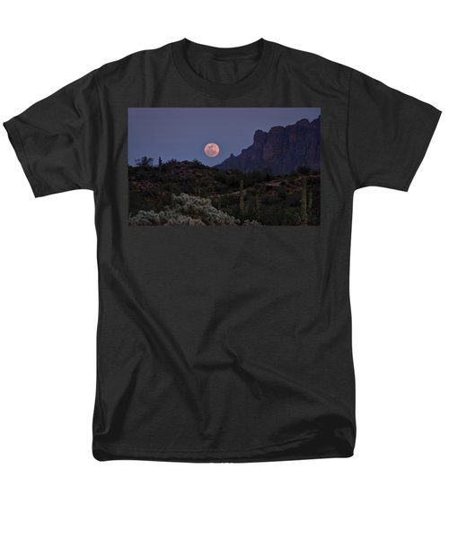 Full Moon Rising  Men's T-Shirt  (Regular Fit) by Saija  Lehtonen