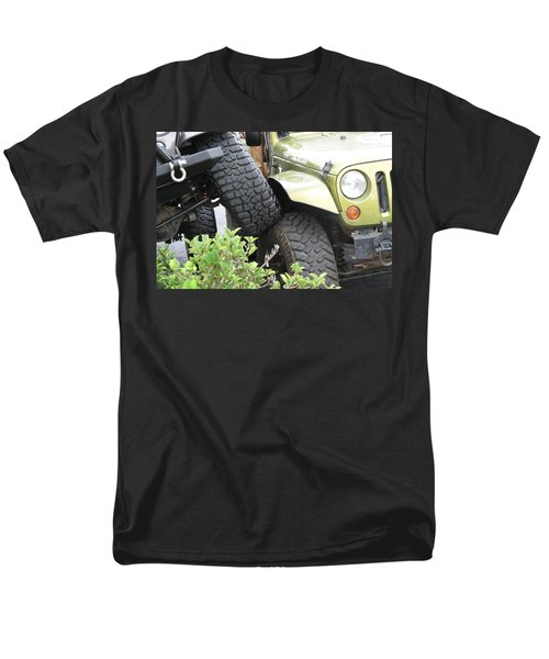 Funny Place To Park Men's T-Shirt  (Regular Fit) by Fortunate Findings Shirley Dickerson
