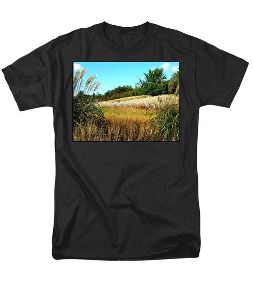 Furry Hill Men's T-Shirt  (Regular Fit)