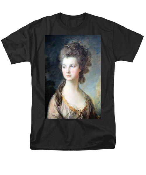 Gainsborough's The Hon. Mrs. Thomas Graham Up Close Men's T-Shirt  (Regular Fit) by Cora Wandel