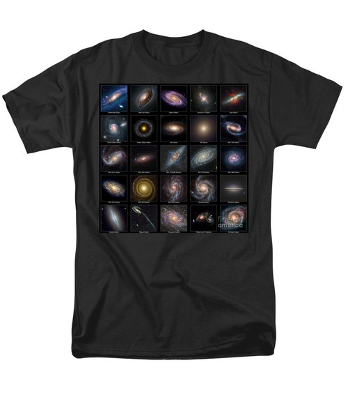 Galaxy Collection Men's T-Shirt  (Regular Fit) by Antony McAulay