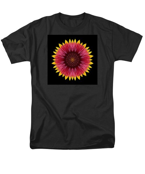 Galliardia Arizona Sun Flower Mandala Men's T-Shirt  (Regular Fit)
