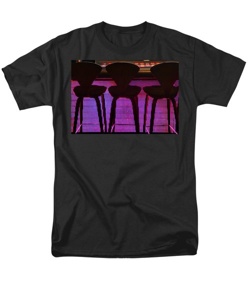 Men's T-Shirt  (Regular Fit) featuring the photograph Game Table 2 by Tammy Espino