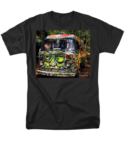Garcia Vw Bus Men's T-Shirt  (Regular Fit) by Angela Murray