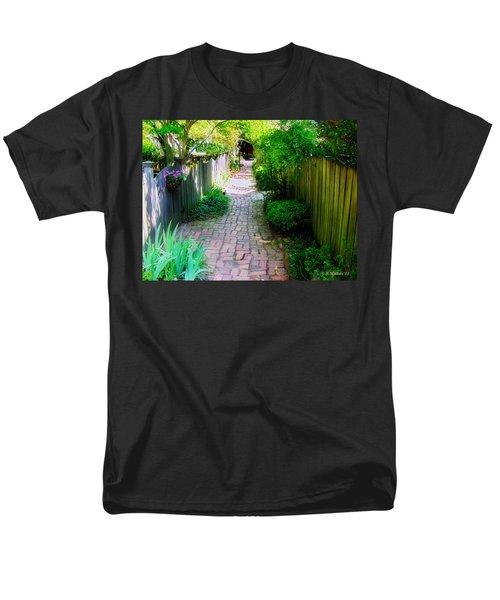 Garden Alley Men's T-Shirt  (Regular Fit) by Brian Wallace