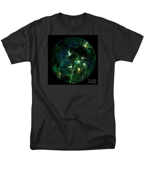Garden Sprites Come At Night Men's T-Shirt  (Regular Fit) by Elizabeth McTaggart
