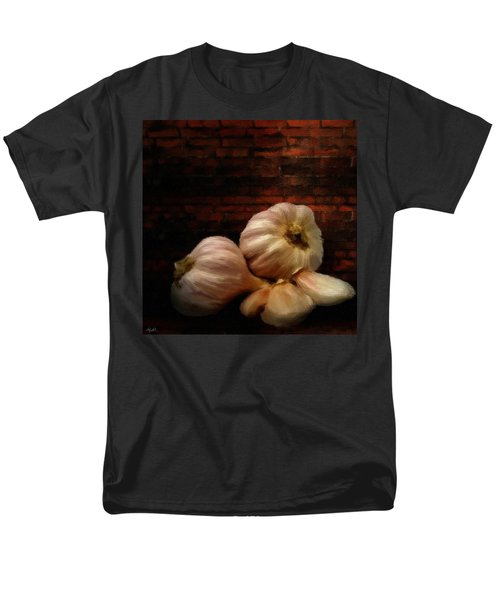 Garlic Men's T-Shirt  (Regular Fit) by Lourry Legarde