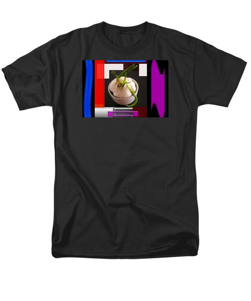 Men's T-Shirt  (Regular Fit) featuring the photograph Garlic Surrounded by Tina M Wenger