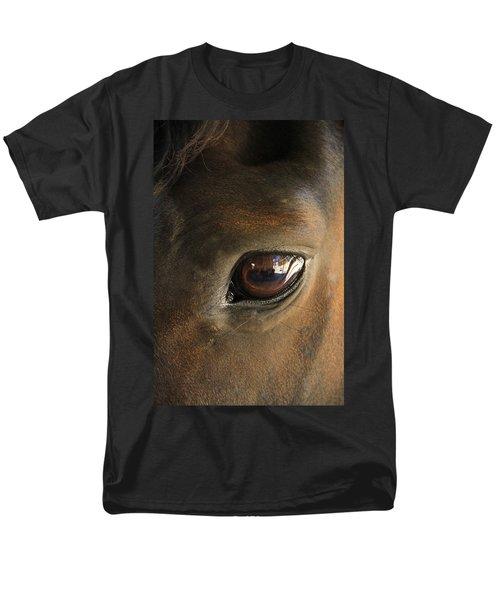 Gateway To A Horses Soul Men's T-Shirt  (Regular Fit) by Shoal Hollingsworth