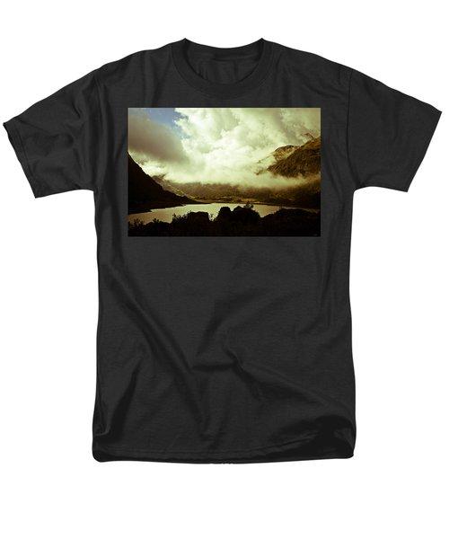 Gathering Clouds  Men's T-Shirt  (Regular Fit) by Lana Enderle