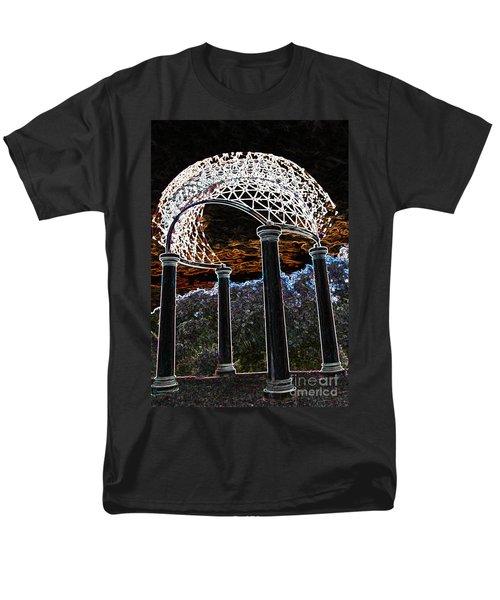 Gazebo 1 Men's T-Shirt  (Regular Fit) by Minnie Lippiatt