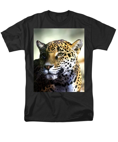 Gazing Jaguar Men's T-Shirt  (Regular Fit)