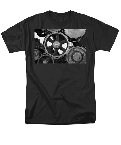 Gear Drive Men's T-Shirt  (Regular Fit) by Chevy Fleet