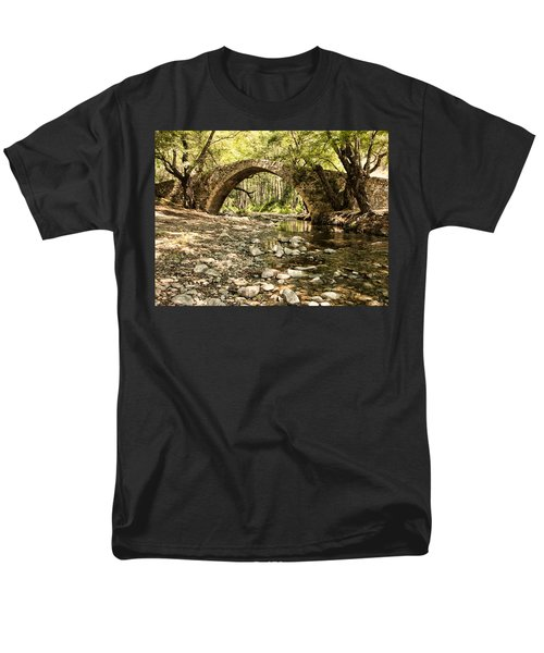 Gelefos Old Venetian Bridge Men's T-Shirt  (Regular Fit) by Mike Santis