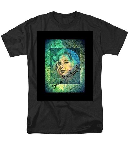 Men's T-Shirt  (Regular Fit) featuring the digital art Gena Rowlands by Absinthe Art By Michelle LeAnn Scott