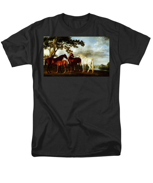 Horses Men's T-Shirt  (Regular Fit) by George Stubbs