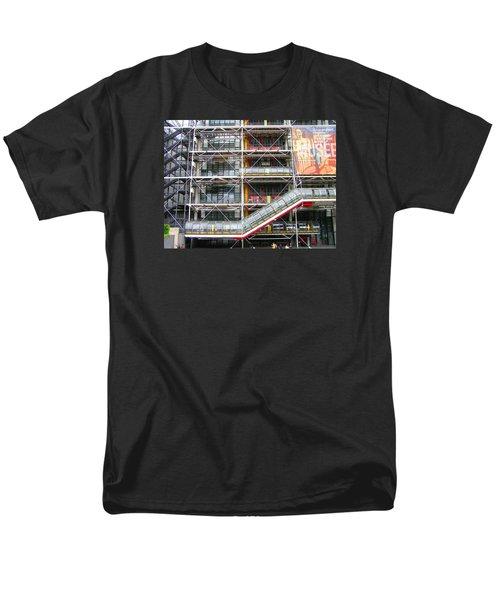 Georges Pompidou Centre Men's T-Shirt  (Regular Fit) by Oleg Zavarzin