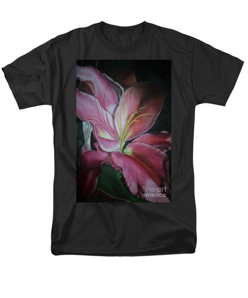 Men's T-Shirt  (Regular Fit) featuring the painting Georgia On My Mind by Marlene Book