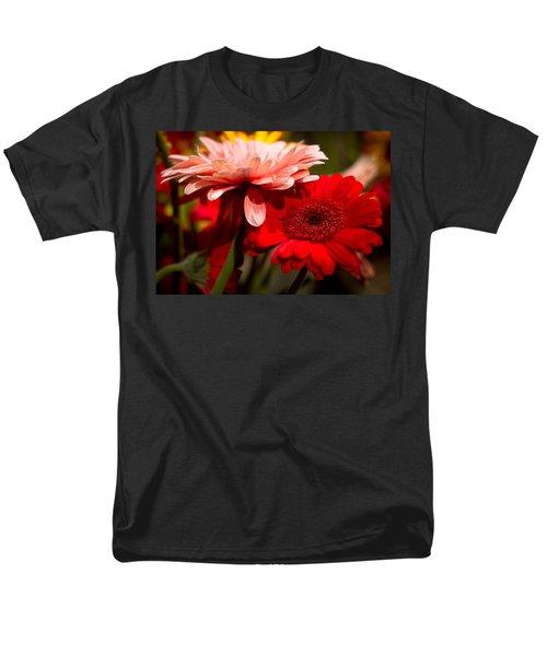 Gerbera Daisies Men's T-Shirt  (Regular Fit) by Patrice Zinck