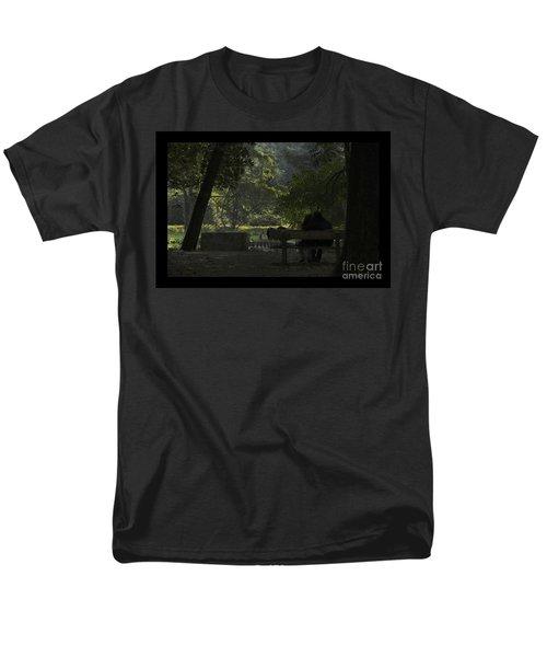 Romantic Moments Men's T-Shirt  (Regular Fit) by Kiran Joshi