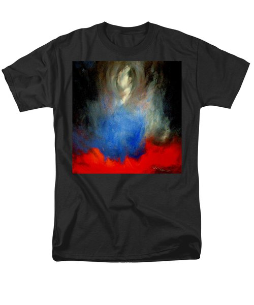 Men's T-Shirt  (Regular Fit) featuring the painting Ghost by Lisa Kaiser