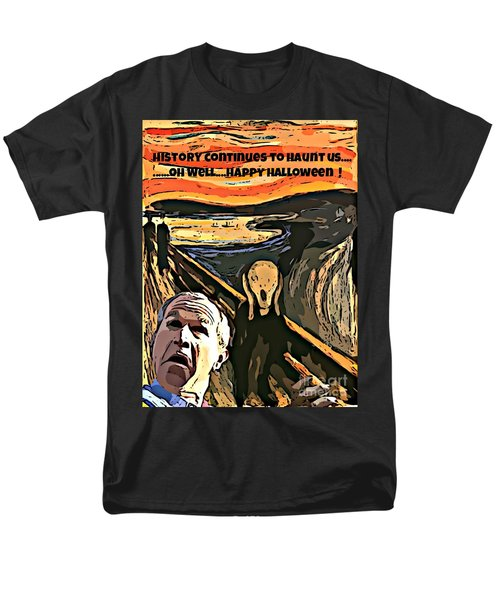 Ghosts Of The Past Men's T-Shirt  (Regular Fit) by John Malone
