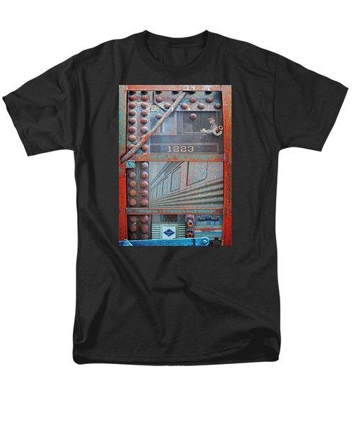 Ghosts Of The Railroad Men's T-Shirt  (Regular Fit) by Joseph J Stevens