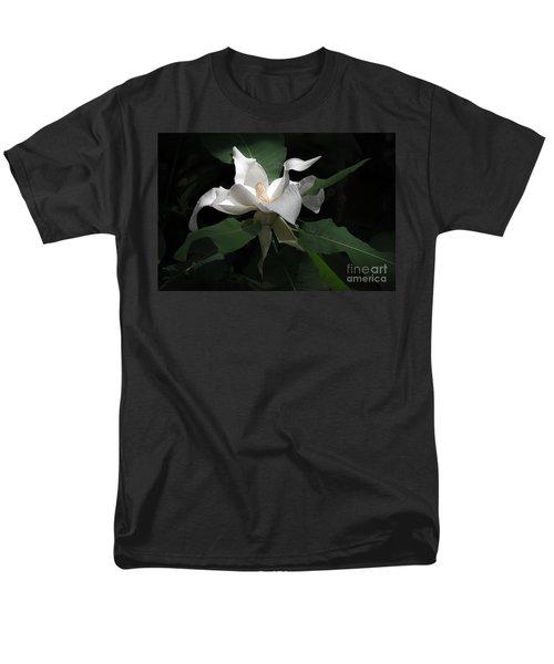 Giant Magnolia Men's T-Shirt  (Regular Fit) by Angela DeFrias