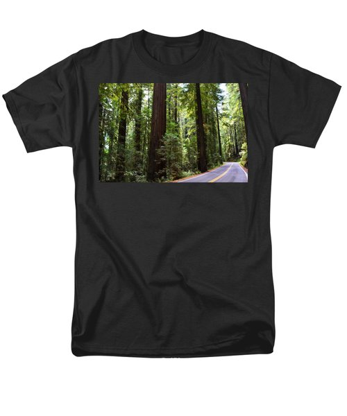Giants And The Road Men's T-Shirt  (Regular Fit) by Michelle Calkins