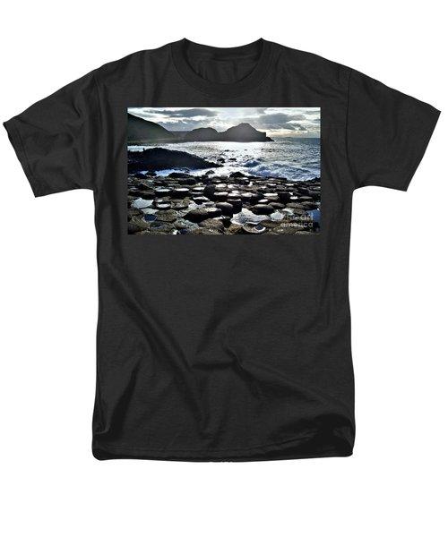 Giant's Causeway Sunset Men's T-Shirt  (Regular Fit) by Nina Ficur Feenan