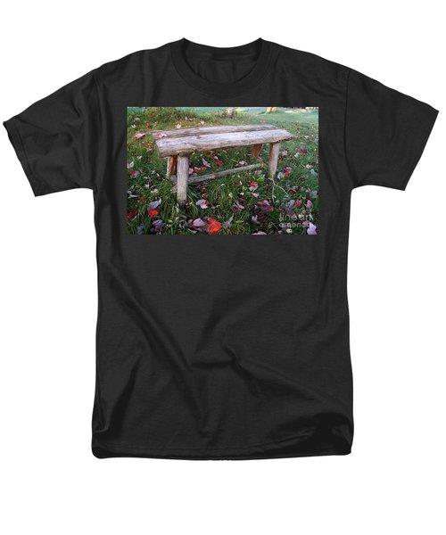 Ginny's Bench Men's T-Shirt  (Regular Fit) by Kerri Mortenson