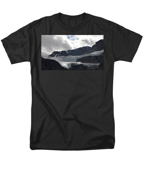 Glacial Mountain Men's T-Shirt  (Regular Fit) by Cheryl Miller