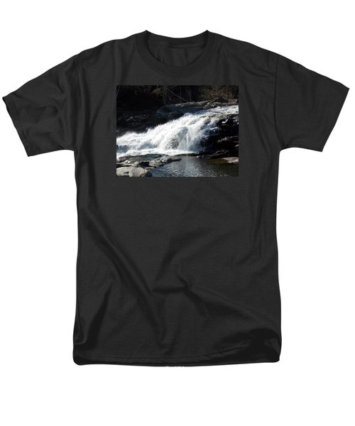 Glacial Potholes Falls Men's T-Shirt  (Regular Fit) by Catherine Gagne
