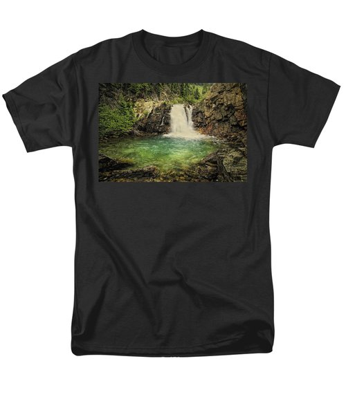 Men's T-Shirt  (Regular Fit) featuring the photograph Glory Pool by Priscilla Burgers