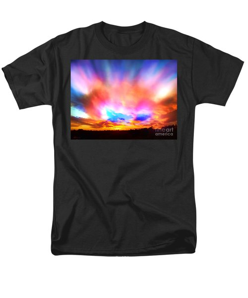Men's T-Shirt  (Regular Fit) featuring the photograph Glory Sunset by Patricia L Davidson