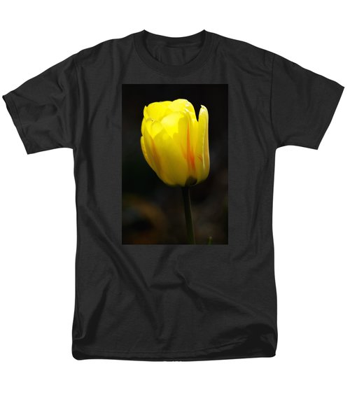 Glowing Tulip Men's T-Shirt  (Regular Fit) by Shelly Gunderson